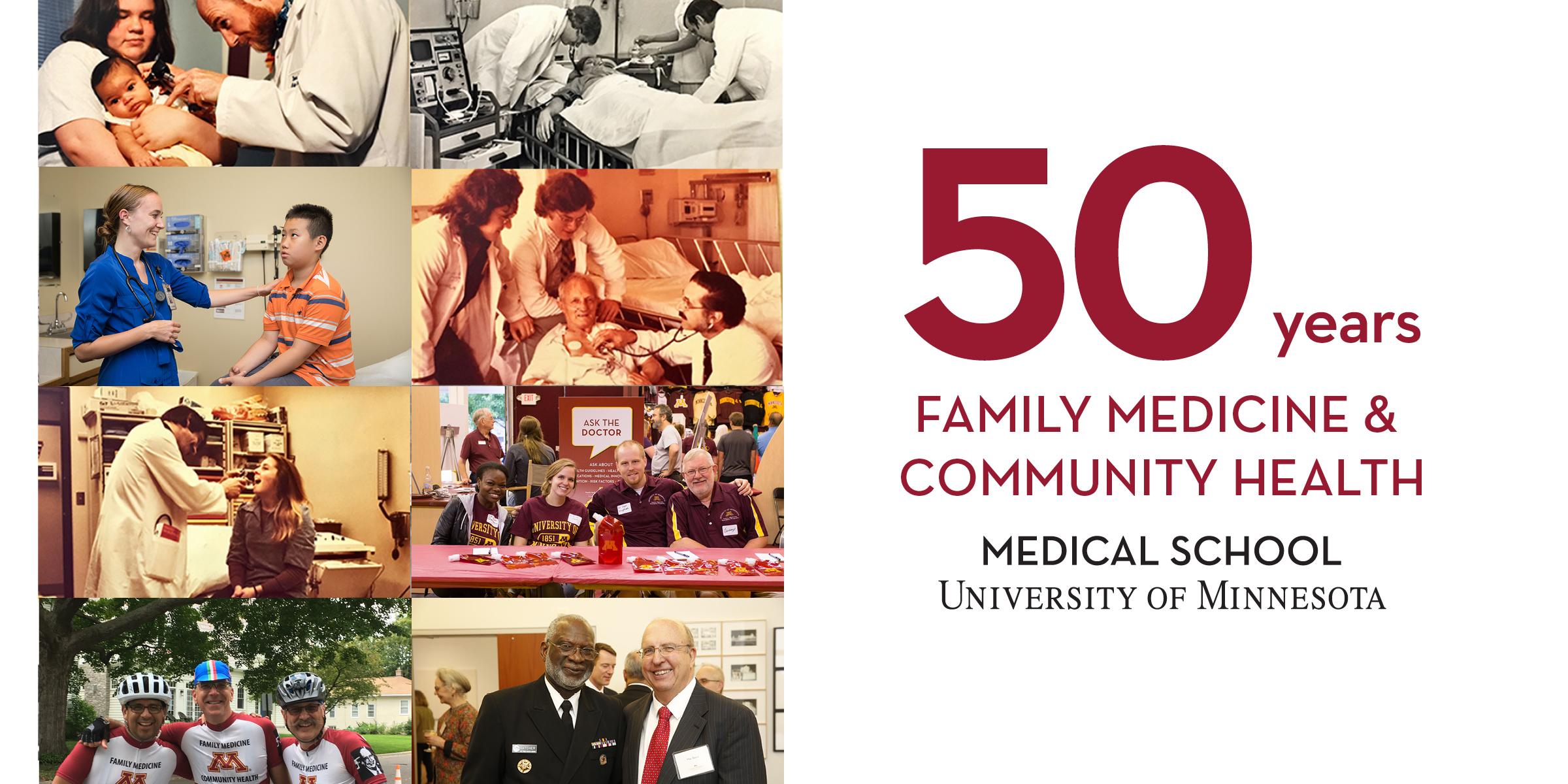 50th anniversary banner DFMCH