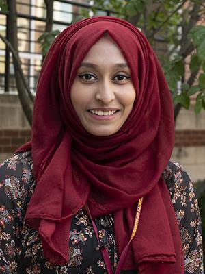 Portrait of Bushra Haider