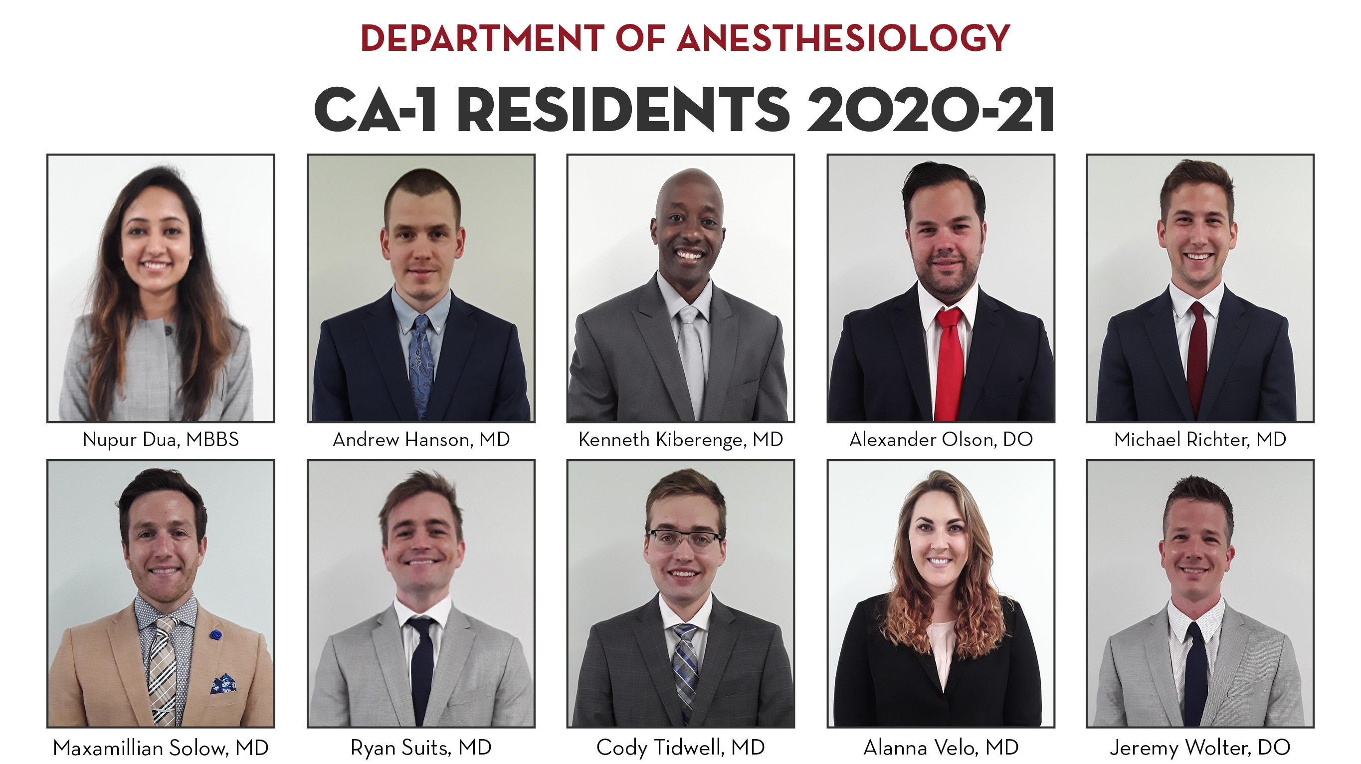 CA1 residents