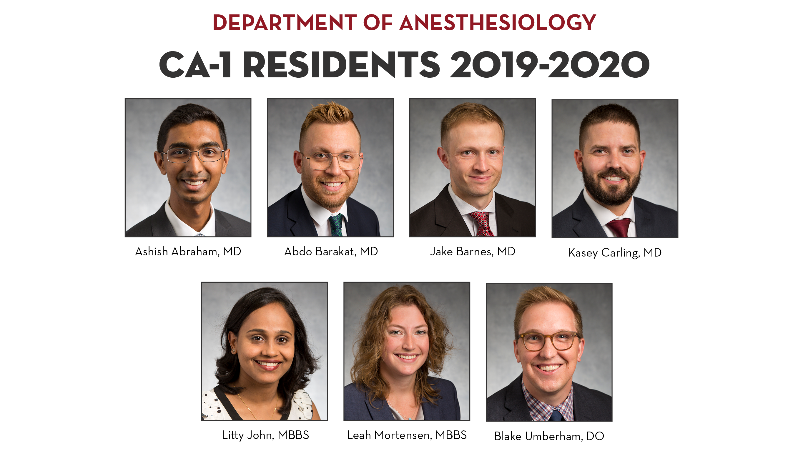 Our Residents | Medical School - University of Minnesota