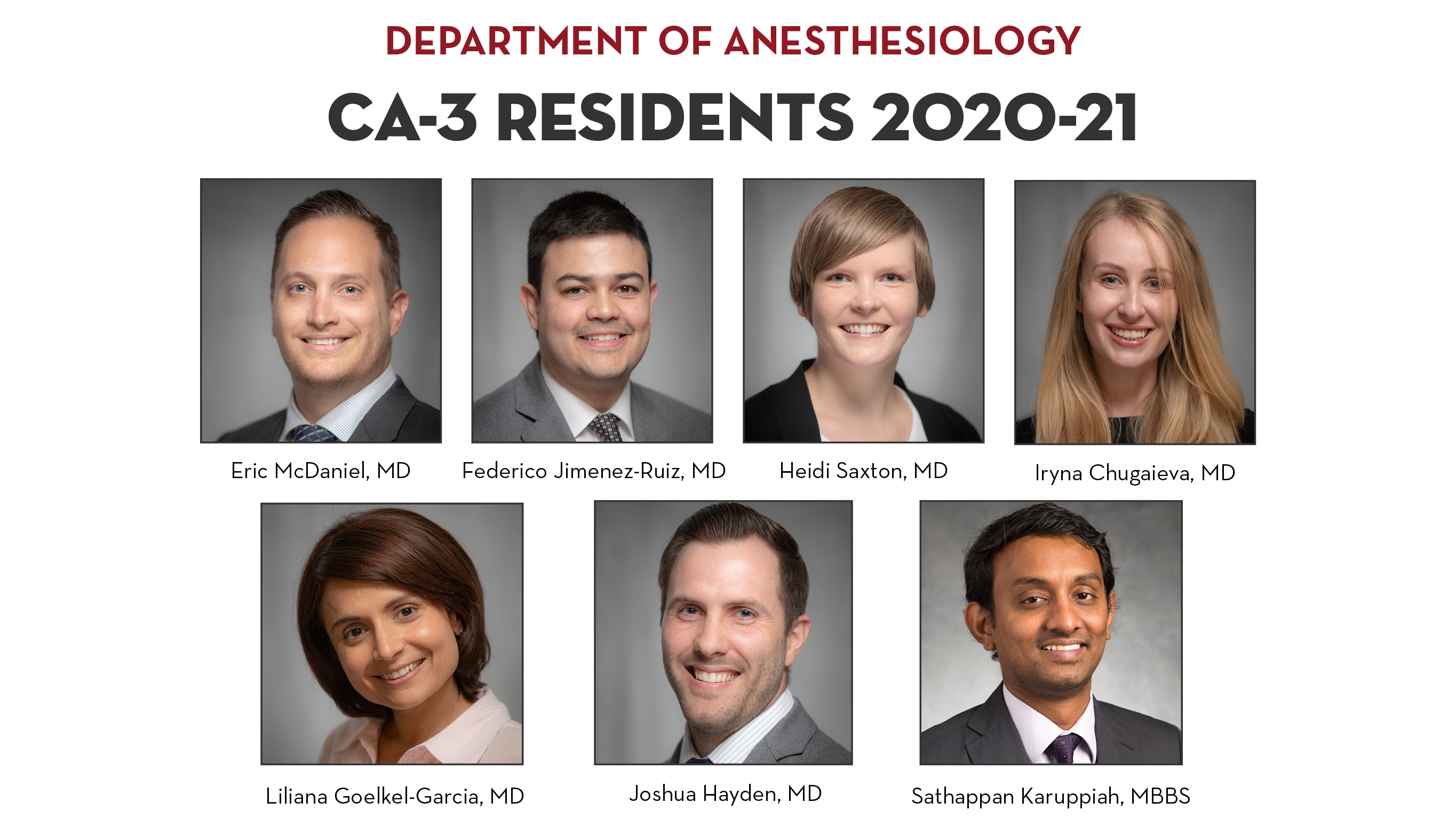 CA3 residents