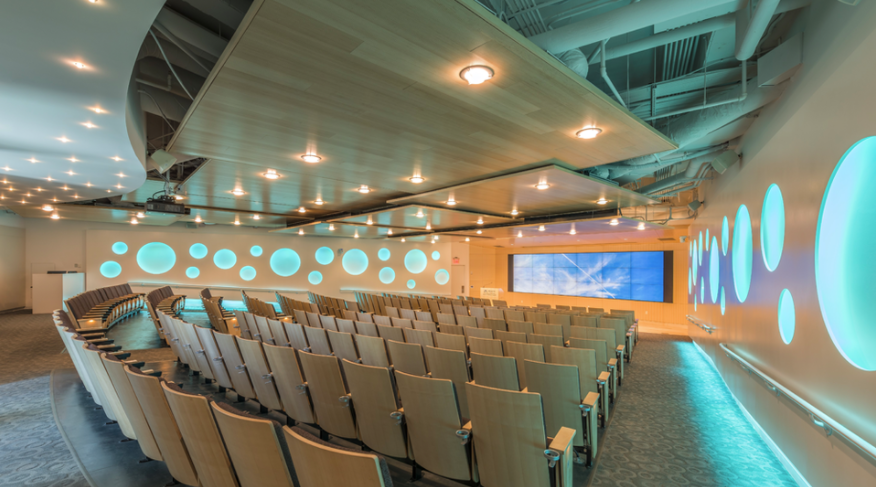 Picture of modern meeting room