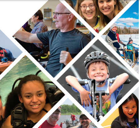 Discover Abilities Expo Photo Collage