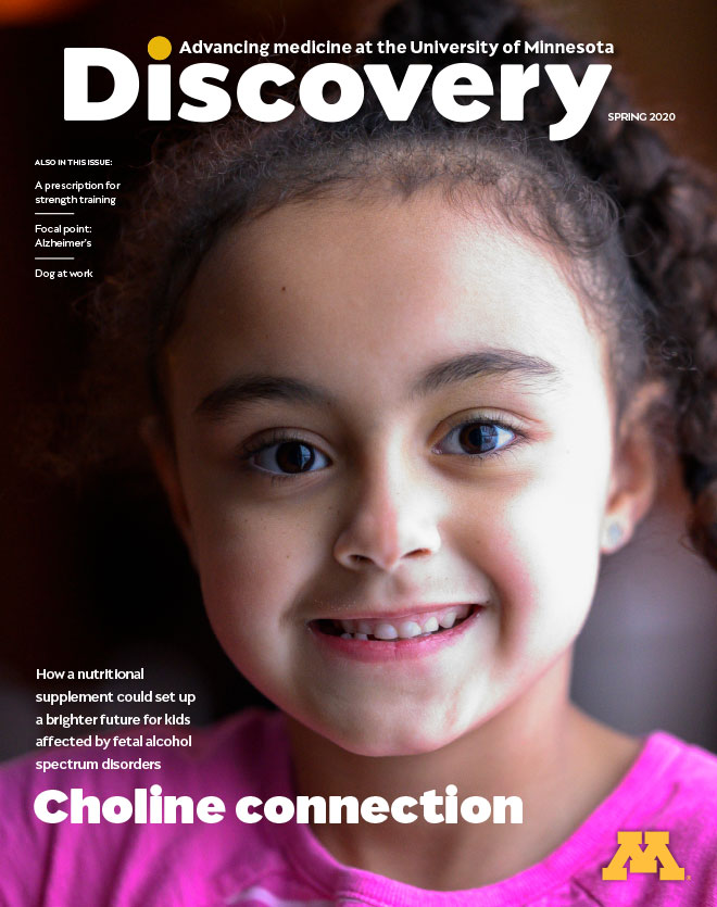 Spring 2020 Discovery Magazine Cover