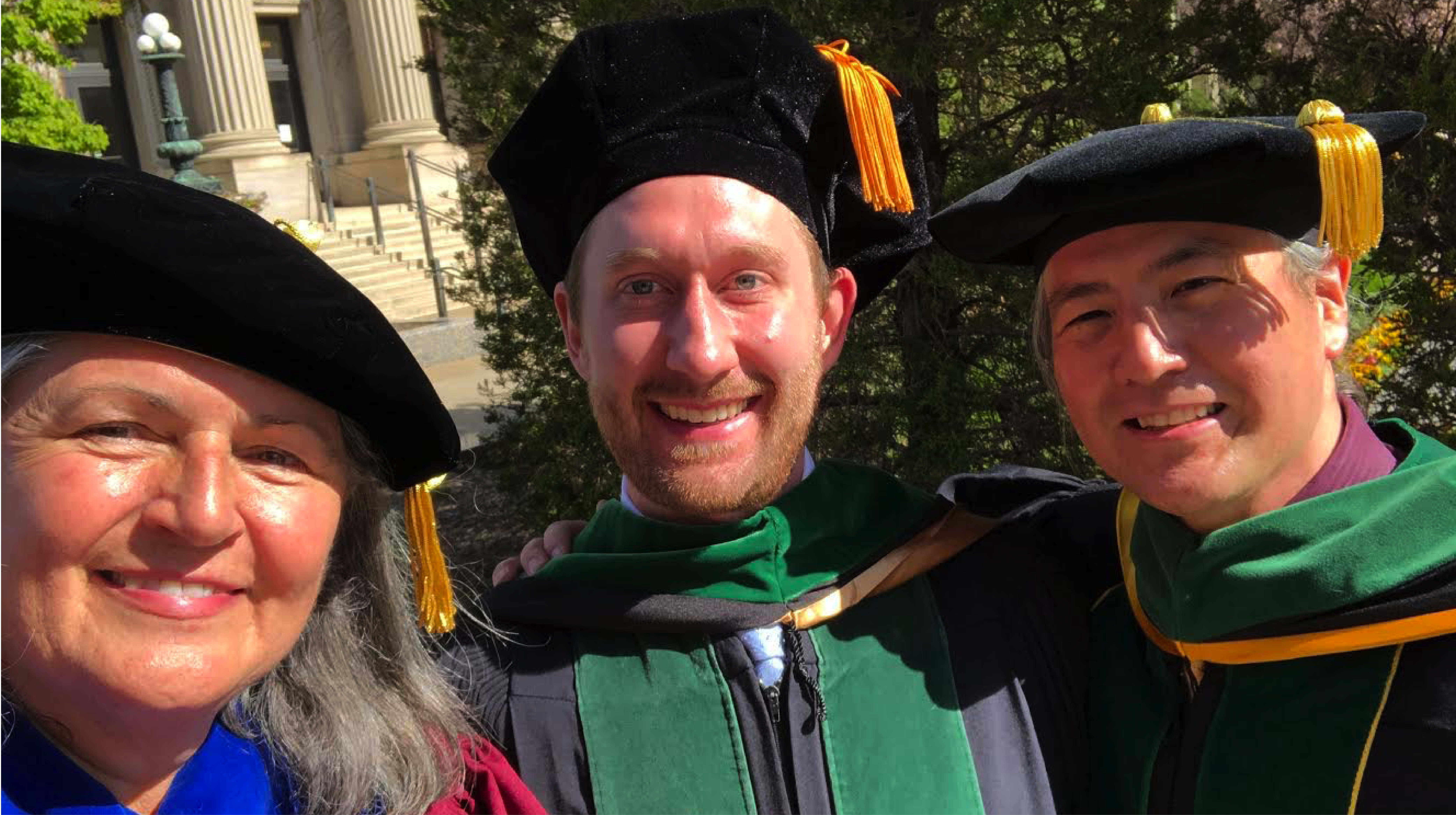 Robin Michaels, PhD, Kyle Pribyl, MD, and Michael Kim, MD
