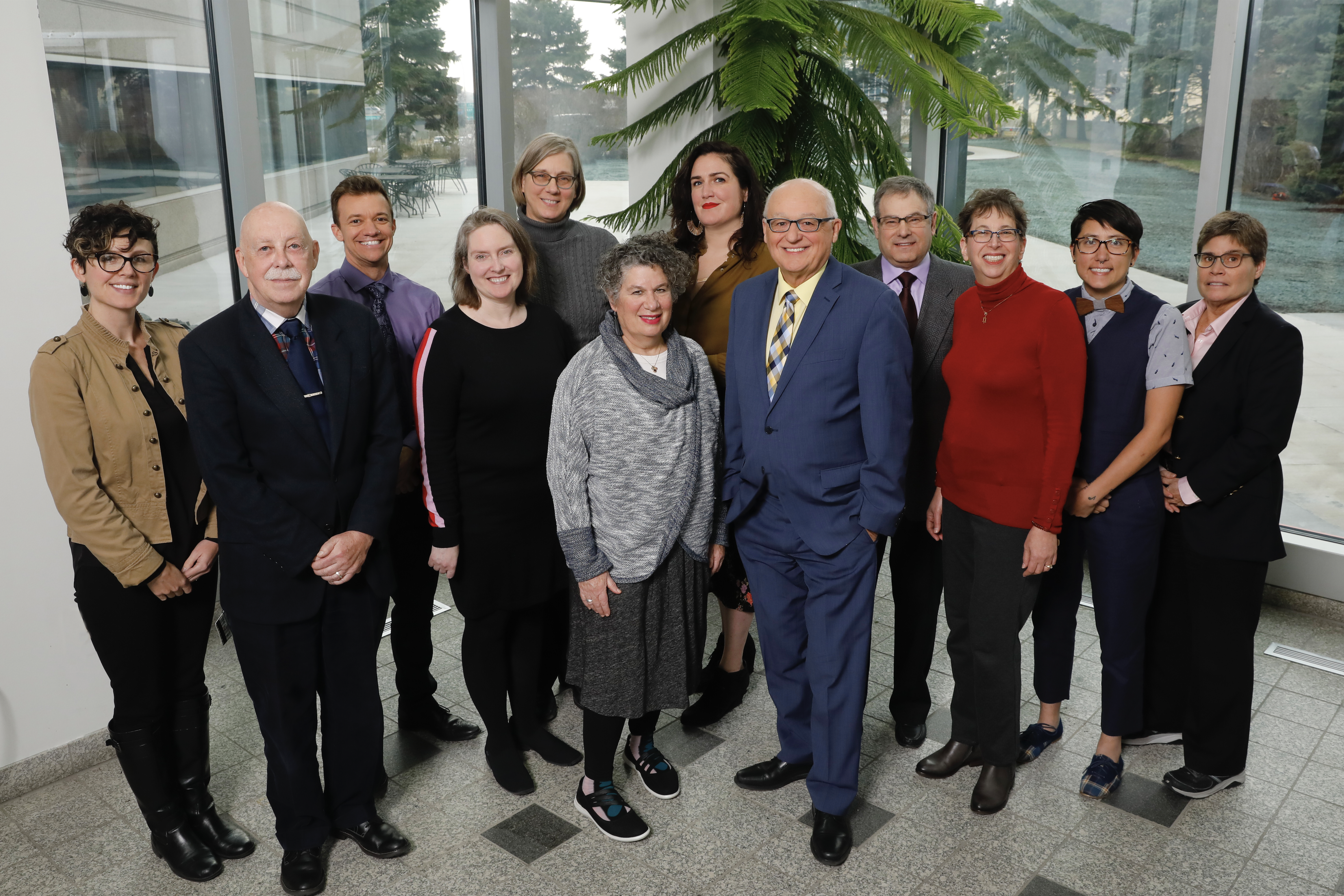 A group photo of the faculty in the Institute for Sexual and Gender Health