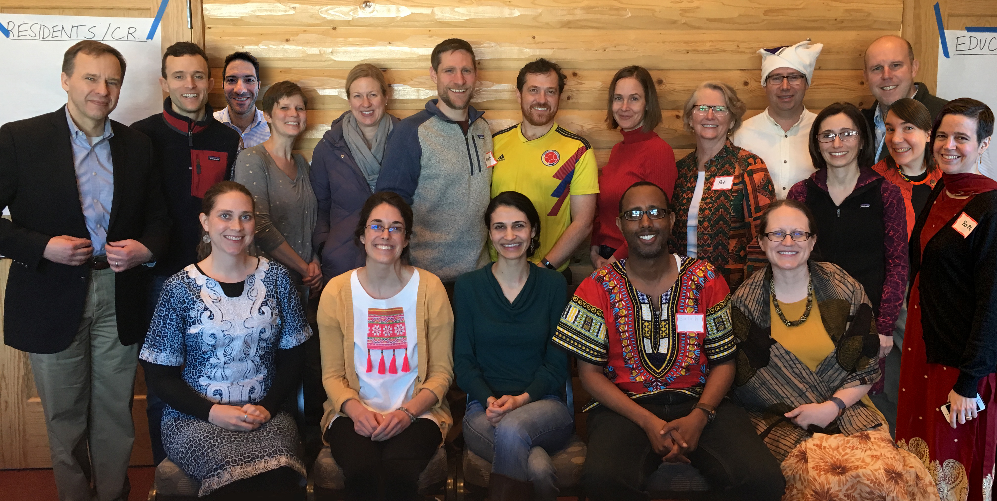 Global Medicine faculty at retreat, 2019