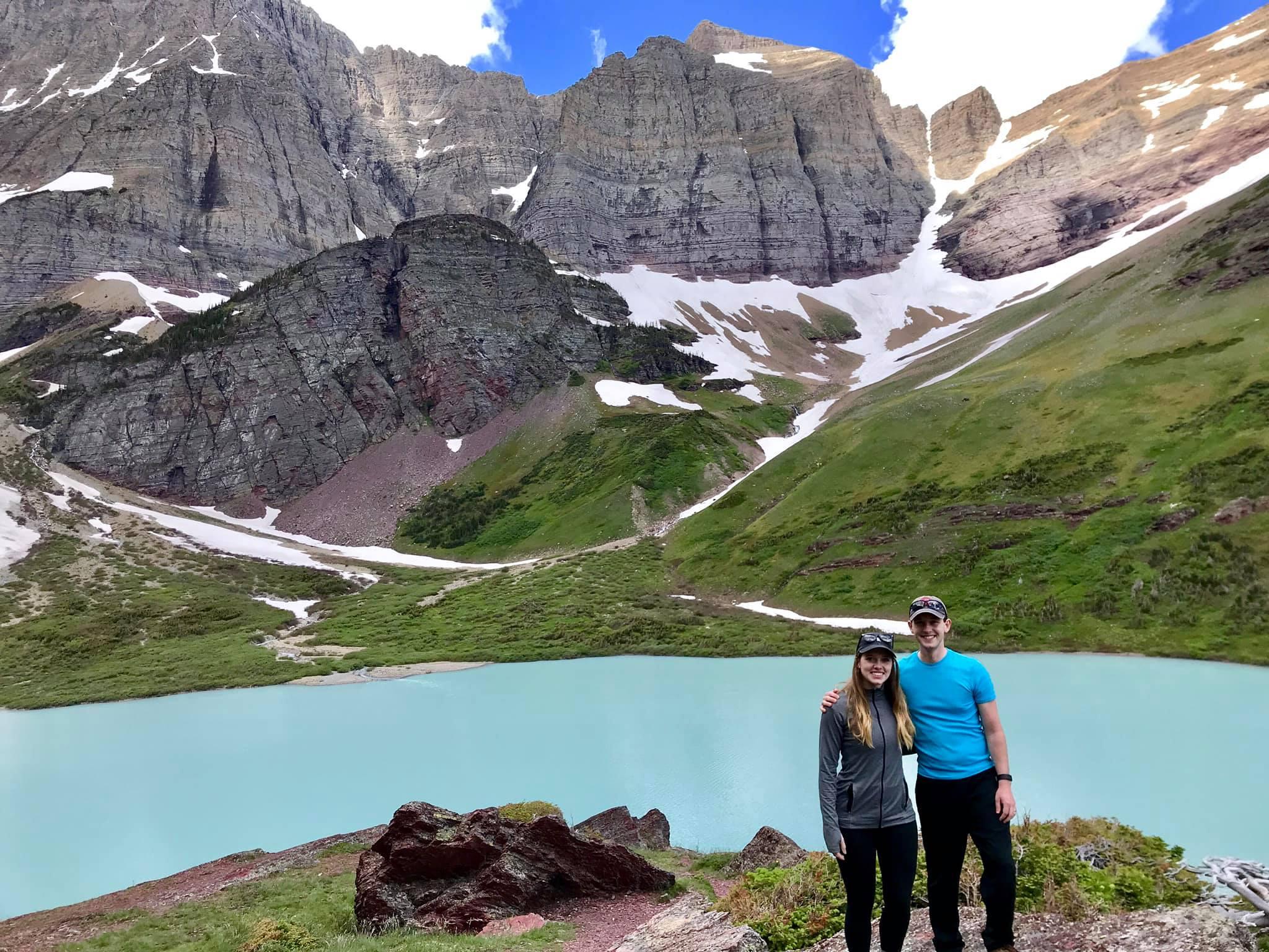 Dr. Joe Benert at Glacier National Park