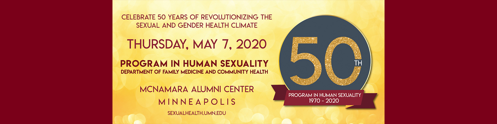 Program in Human Sexuality 50th Anniversary