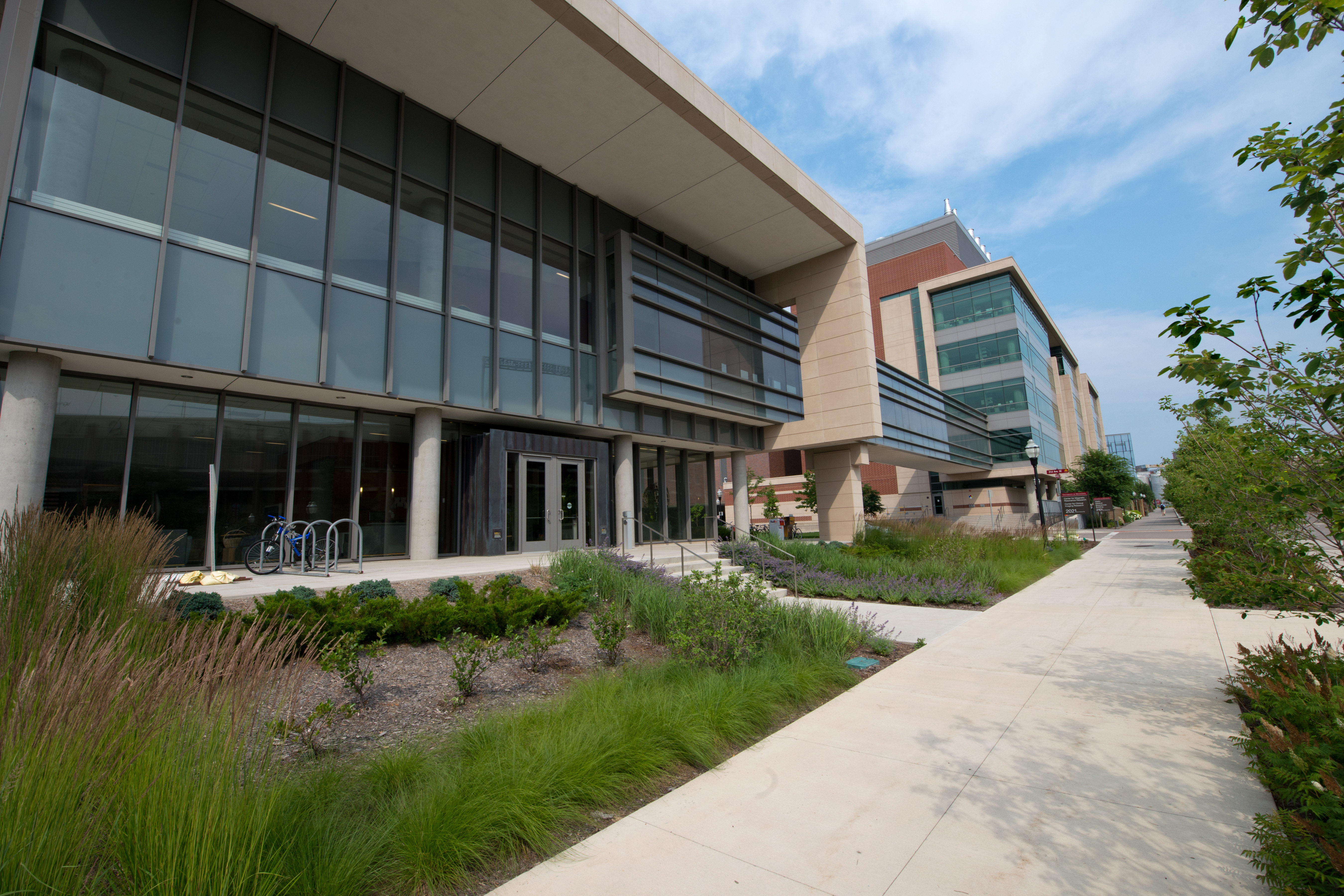 Center for Magnetic Resonance Building