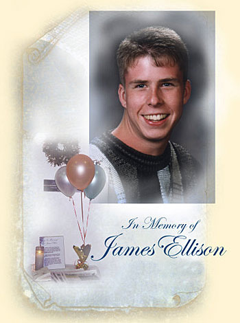 In memory of James Ellison