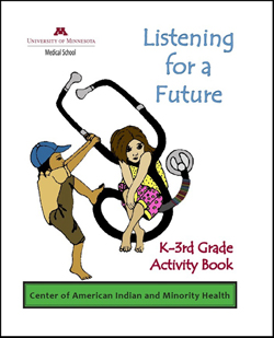 Listening for a Future: K-3rd Grade Activity Book cover