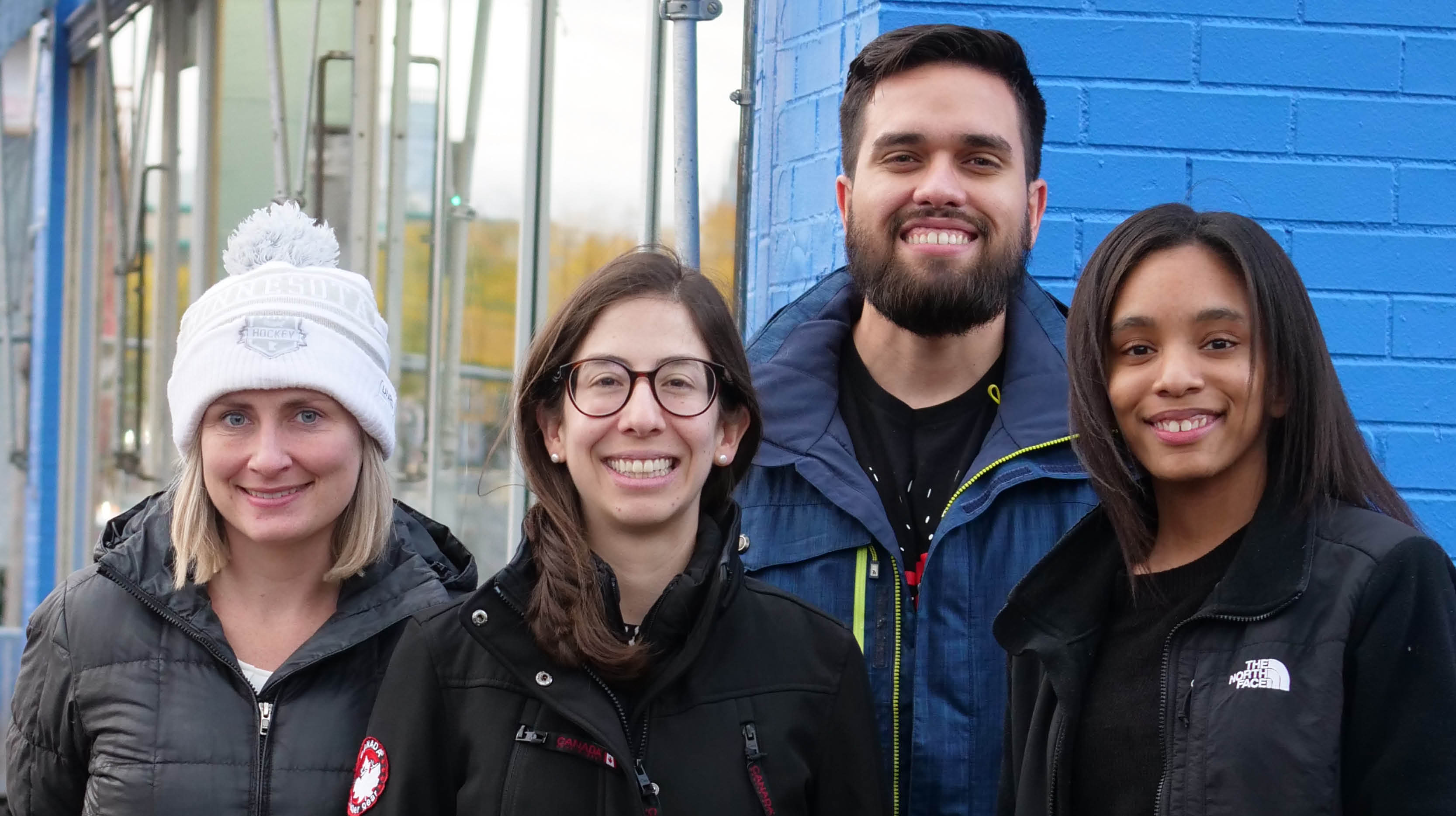 Laundry Love participants at Chicago Coin Laundry