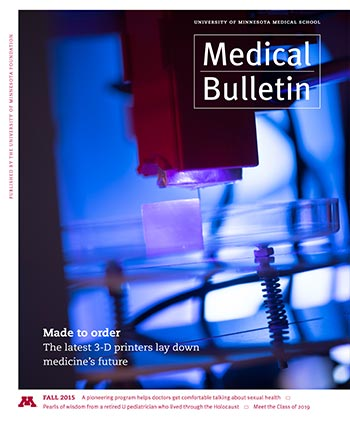 Medical Bulletin Fall 2015 Cover