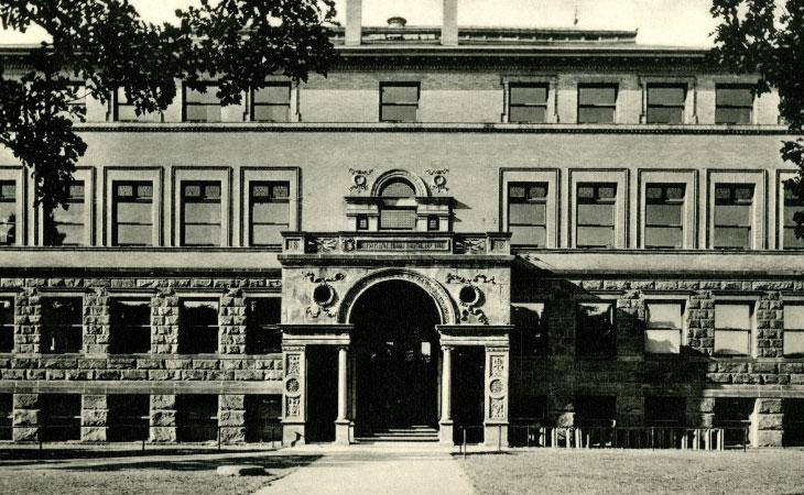 Medical Hall circa 1892