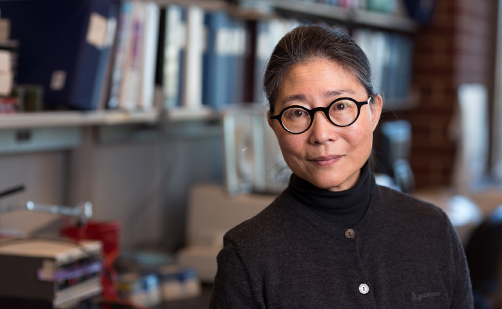 Karen Hsiao Ashe, M.D., Ph.D., founding director of the University's N. Bud Grossman Center for Memory Research and Care