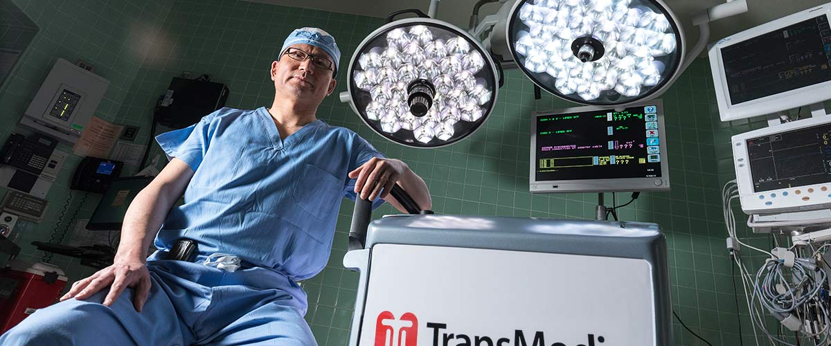 U cardiovascular surgeon Kenneth Liao, M.D., Ph.D., has evaluated four donor hearts using the TransMedics Organ Care System so far. Two have been used for transplant.