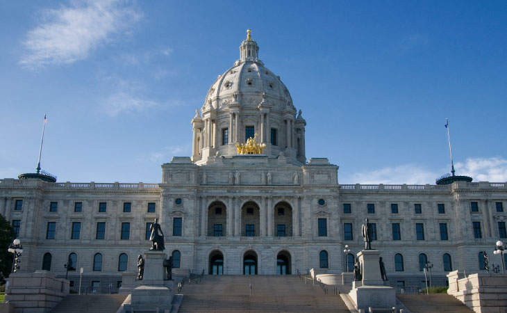 Photograph of Minnesota State Capitol building