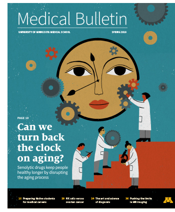 Cover of the Medical Bulletin Spring 2019 issue