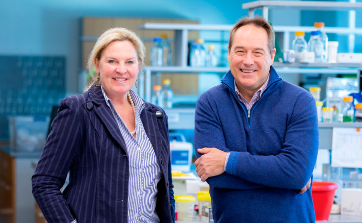 Laura Niedernhofer, M.D., Ph.D., and Paul Robbins, Ph.D., who lead the U's new Institute on the Biology  of Aging and Metabolism, believe healthier old age  is increasingly possible.