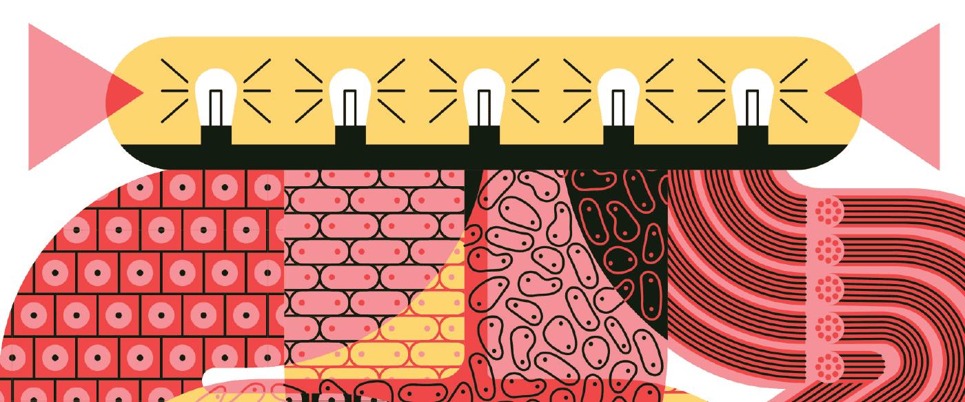 Illustration of a stem cell