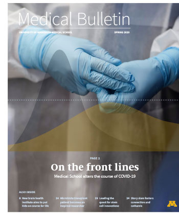 Spring 2020 Medical Bulletin cover