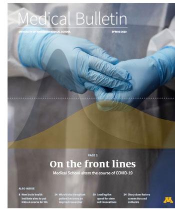 Spring 2020 Medical Bulletin cover