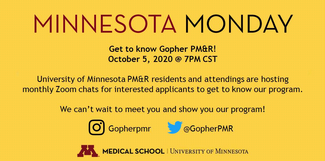 October Minnesota Monday Flyer