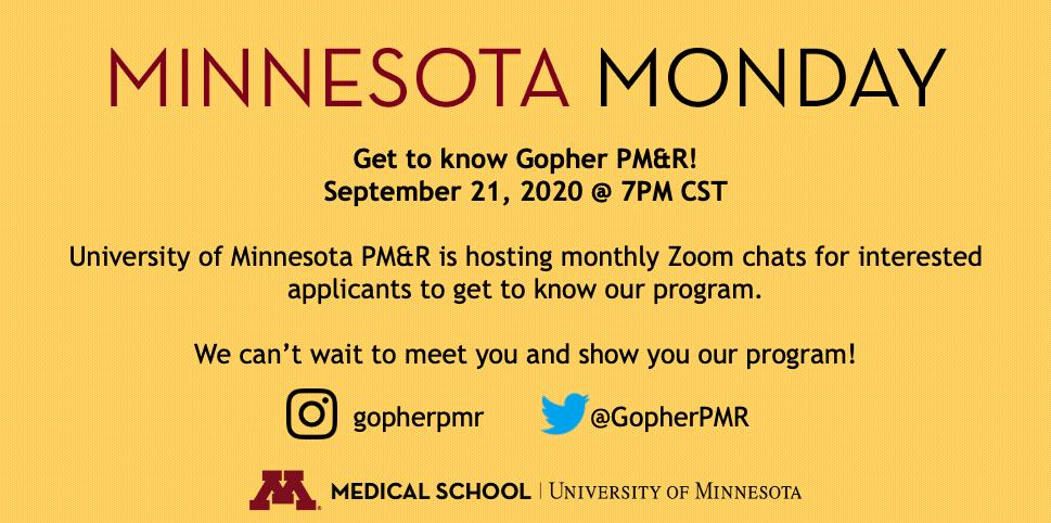 September Minnesota Monday Flier