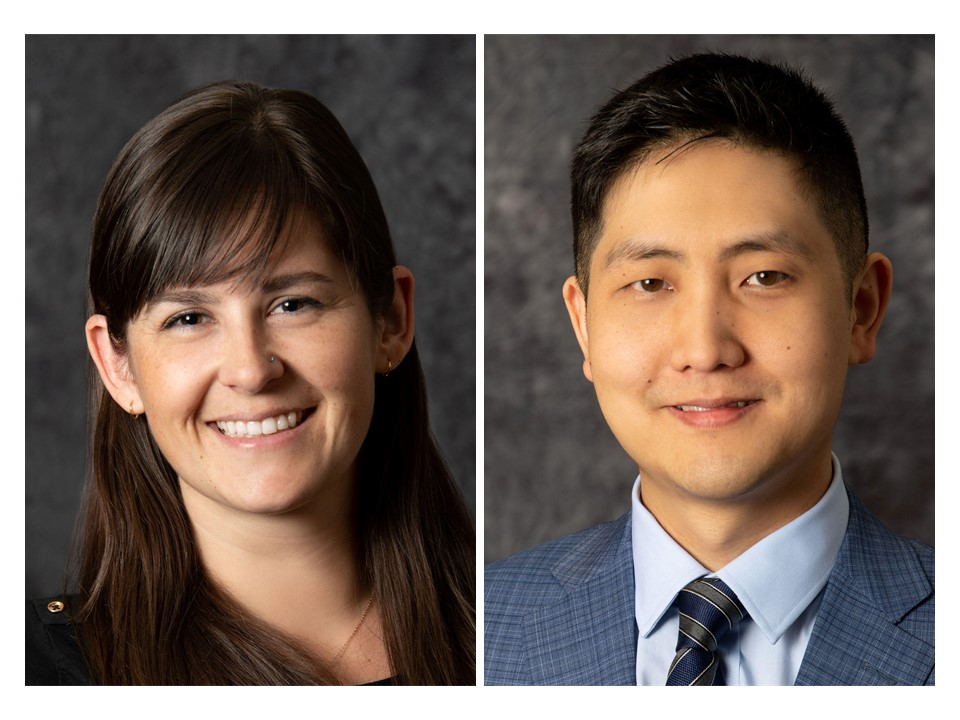 Molly Hubbard, MD, and Joshua Lim, MD