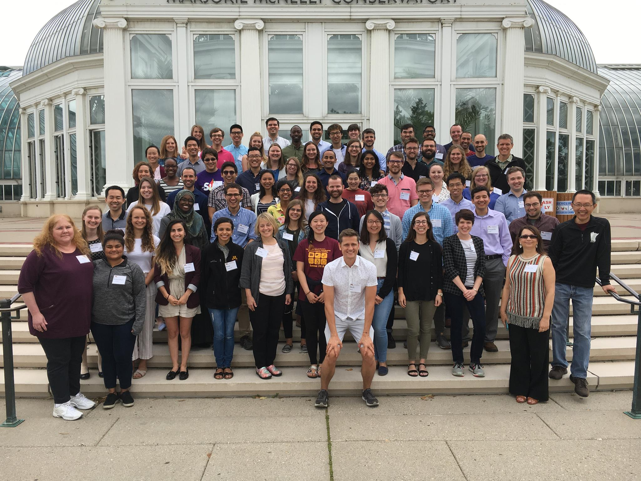 Group picture of UMN Medical Scientist Training Program 2018 retreat attendees
