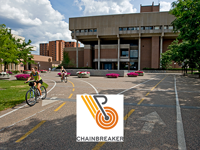 Bikers with Chianbreaker logo