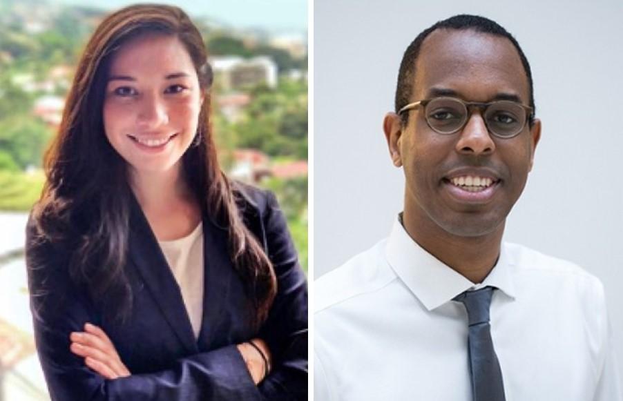 Dr. Isabel Peno Pina and Dr. Birra Taha