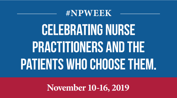 National Nurse Practitioner Week Logo