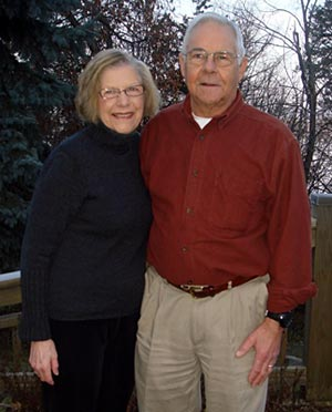 OJ and Karen Fawcett