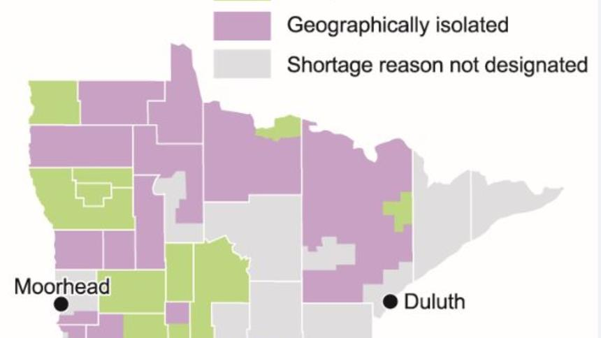 Rural Minnesota struggles when competing for doctors