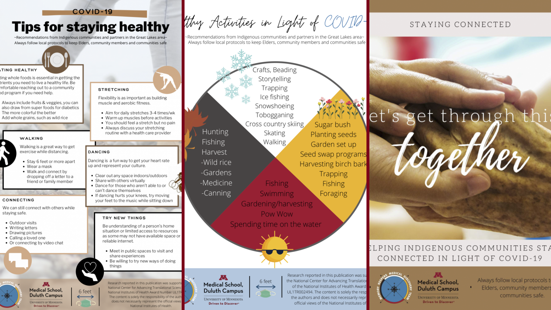 """""""Helping Indigenous Communities Stay Connected in Light of COVID-19 Factsheets"""""""