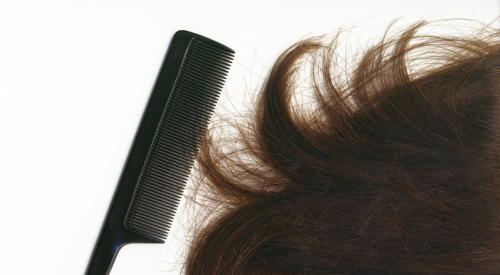 Hair and a comb