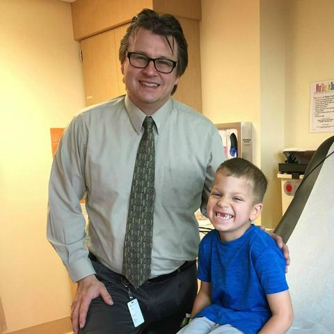 Dr. Troy Lund and Cooper