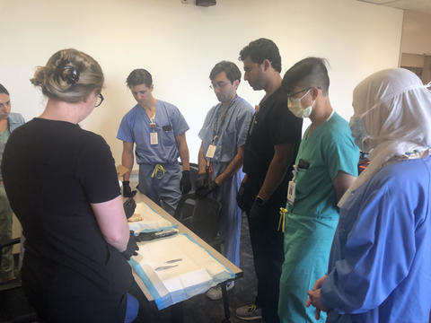Suturing Course