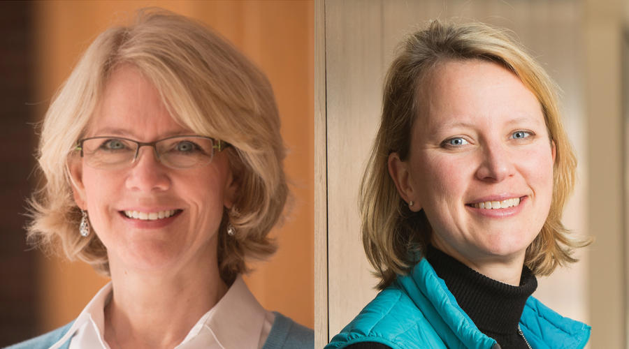 Drs. Everson-Rose and Blaes