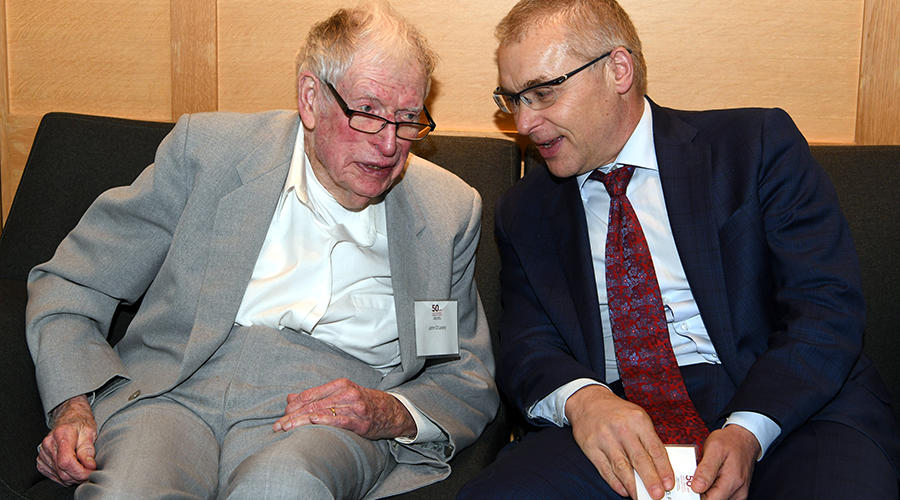 Dr. John O'Leary and Dr. Jakub Tolar