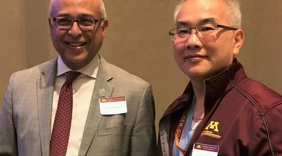 Zoher Ghogawala, MD, and Clark Chen, MD, PhD