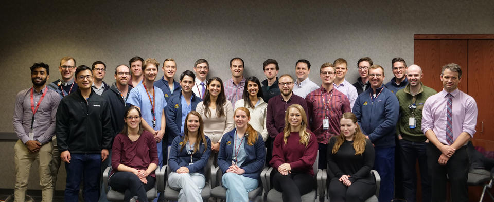 Radiology Residents group photo