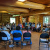 I-CARE Phase 1 meeting of all participating sites at the South Bay Community Centre, Wiikwemkoong Unceded Territory on Manitoulin Island, Ontario, Canada, June 2019.