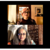 Dr. Suma Jacob and Joan Ducayet during autism webinar