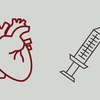 An illustration of a syringe and a heart.