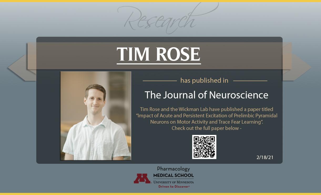 Tim Rose publication