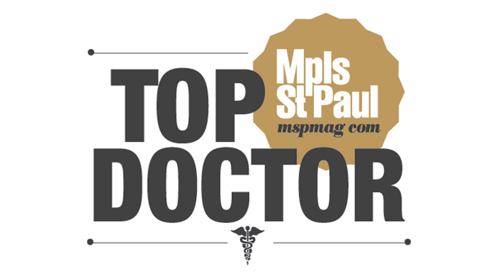 Image result for mpls paul magazine top doctor slogo